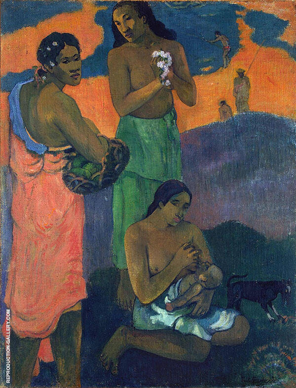 Maternite 1899 By Paul Gauguin