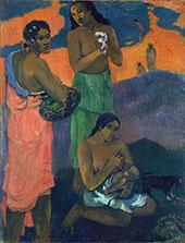 Maternite 1899 By Paul Gauguin