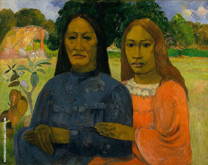 Two Women c1901 By Paul Gauguin