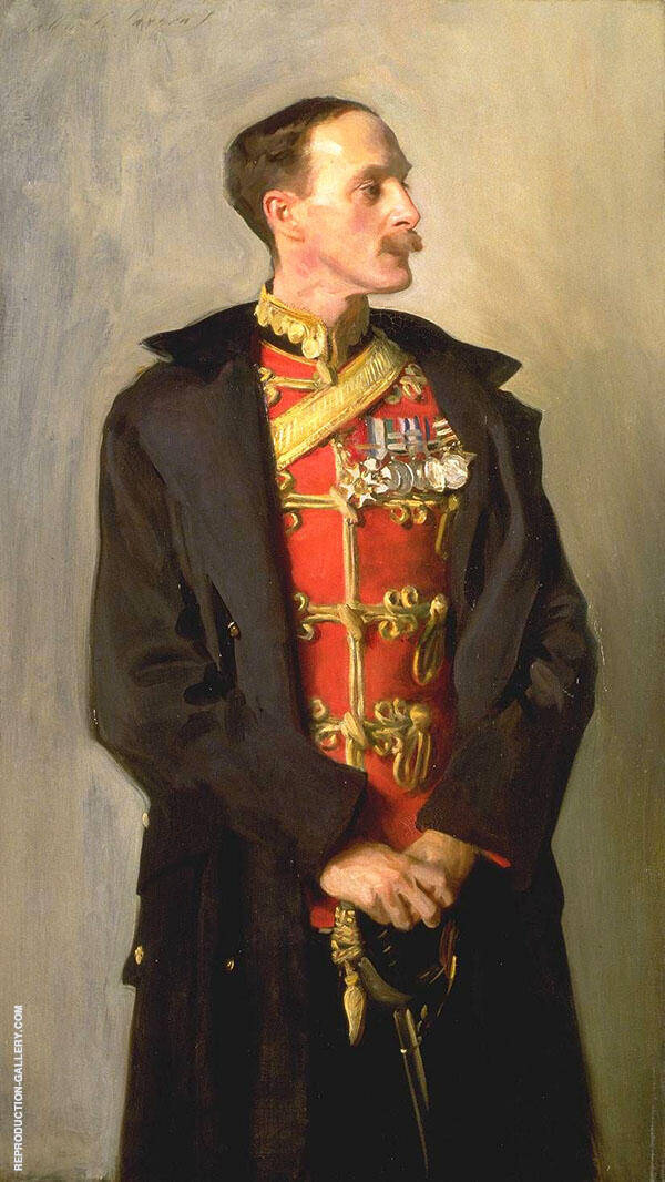 Colonel Ian Hamilton By John Singer Sargent