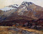 Coming Down from Mont Blanc aka Hubshorn Mountain Simplon Pass 1909 By John Singer Sargent