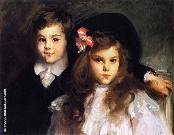 Conrad and Reine Ormand By John Singer Sargent