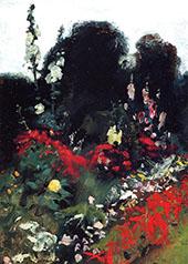 Corner of a Garden 1879 By John Singer Sargent