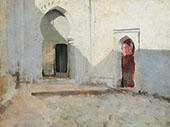 Courtyard Tetuan Morocco By John Singer Sargent