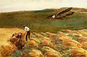 Crashed Aeroplane 1918 By John Singer Sargent