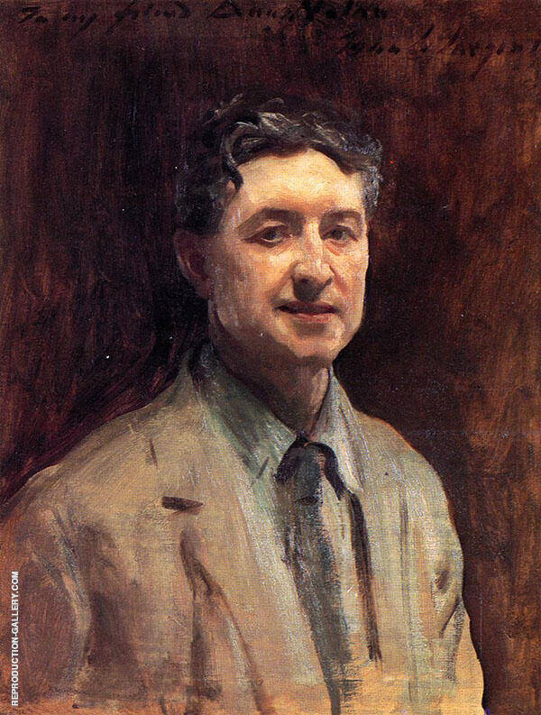 Daniel J Nolan By John Singer Sargent