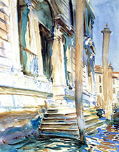 Doorway of a Venetian Palace By John Singer Sargent