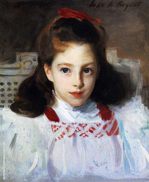Dorothy Vickers By John Singer Sargent