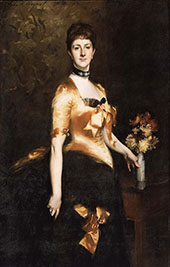 Lady Playfair, Edith Russell 1884 By John Singer Sargent