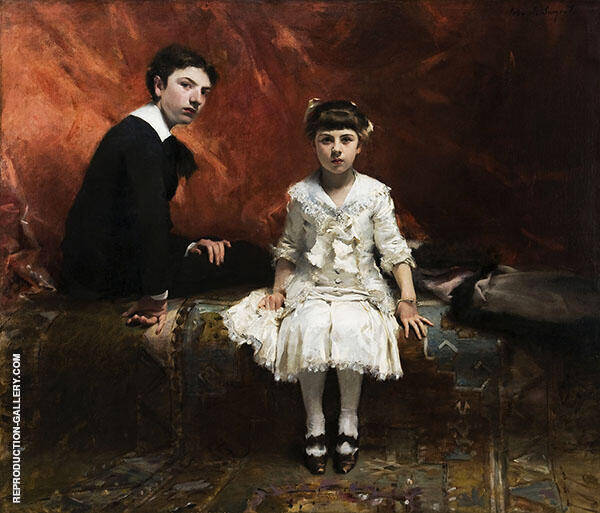 Edouard and Marie Louise Pailleron By John Singer Sargent