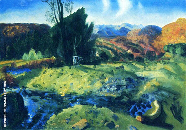 Autumn Brook By George Bellows