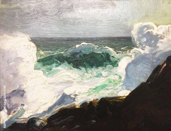 Green Breaker By George Bellows
