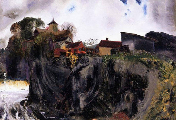 Cliffs at Eddyville George Wesley By George Bellows