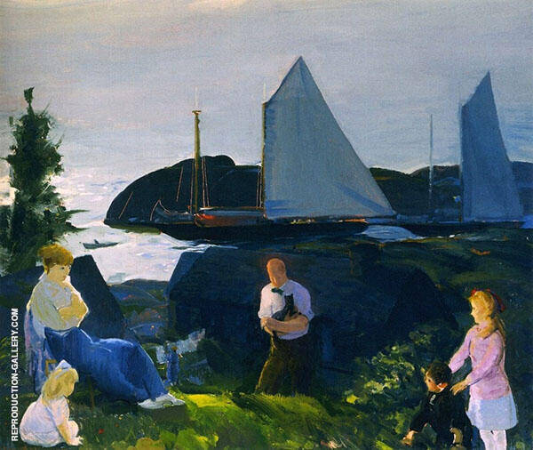 Evening Group By George Bellows