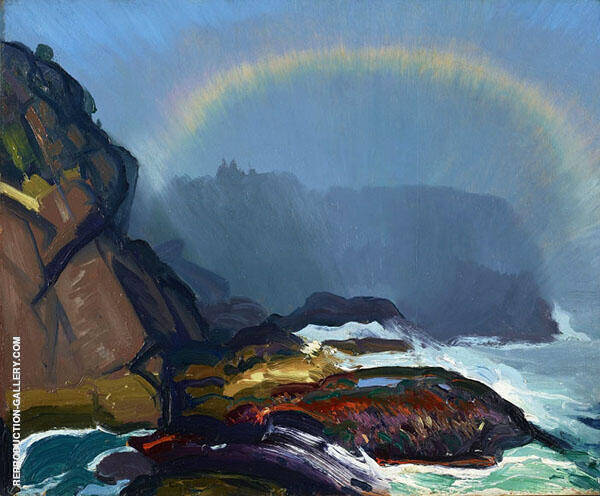 Fog Rainbow 1913 By George Bellows