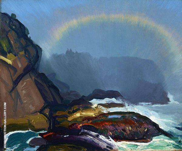 Fog Rainbow 1913 By George Bellows
