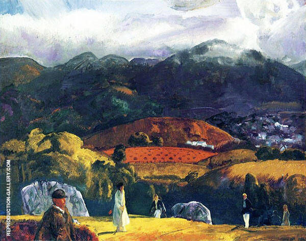 Course California 1917 By George Bellows