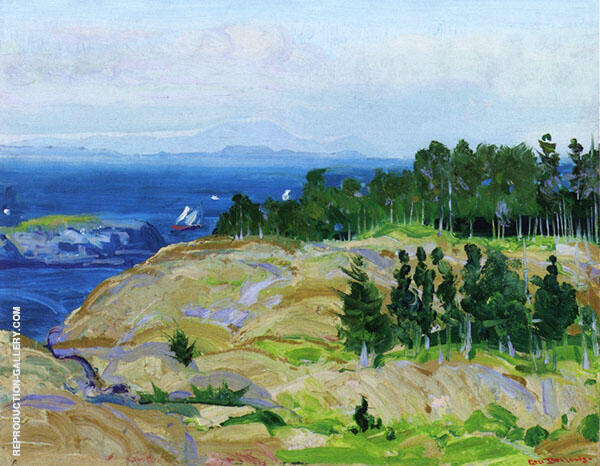 Green Point 1913 By George Bellows