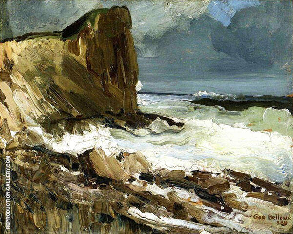 Gull Rock and Whitehead By George Bellows