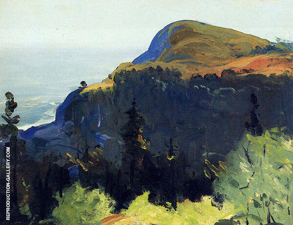 Hill and Valley 1913 By George Bellows