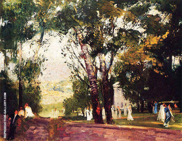 In Virginia 1908 By George Bellows