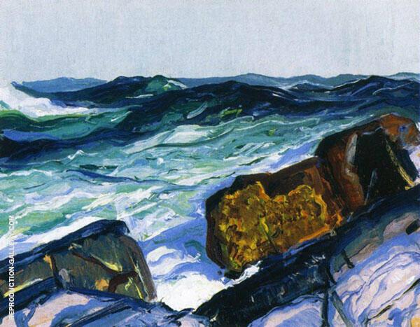 Iron Coast Monhegan By George Bellows