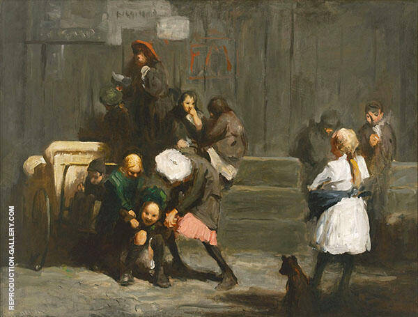 Kids 1906 By George Bellows