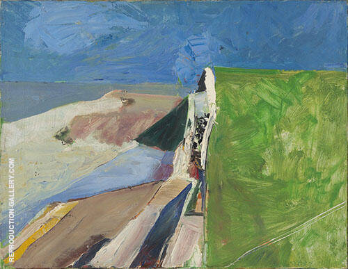 Seawall 1957 By Richard Diebenkorn