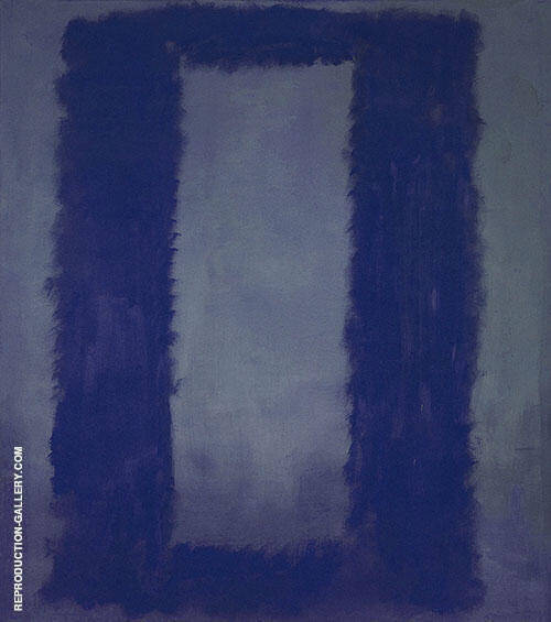Two Blues Seagram By Mark Rothko (Inspired By)