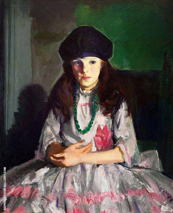 Margarite Painting By George Bellows - Reproduction Gallery