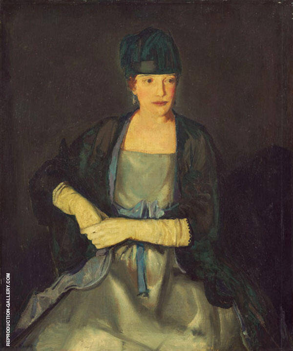 Maud Dale 1919 Painting By George Bellows - Reproduction Gallery