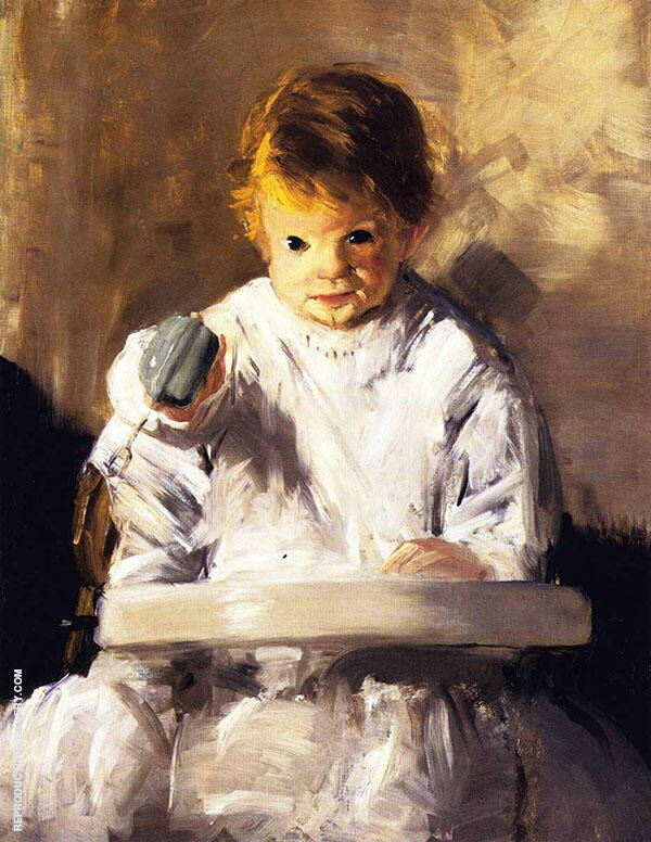 My Baby Painting By George Bellows - Reproduction Gallery