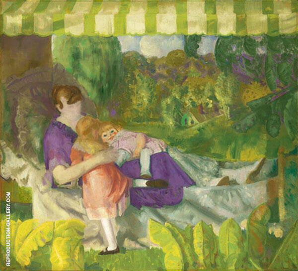 My Family 1916 Painting By George Bellows - Reproduction Gallery