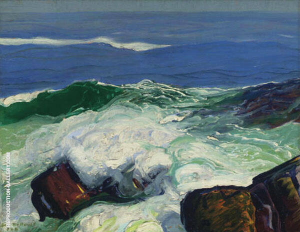 Out of The Calm By George Bellows