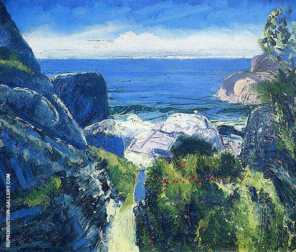 Paradise Point 1919 Painting By George Bellows - Reproduction Gallery