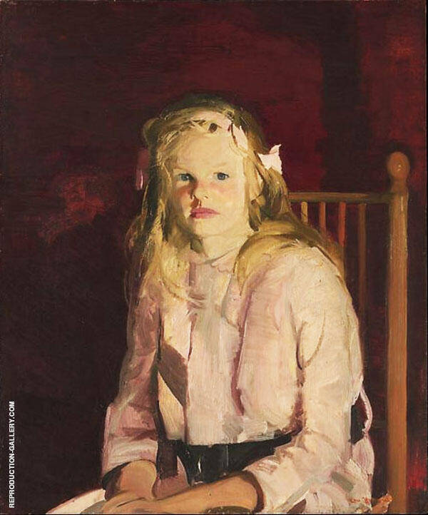 Portrait of Julie Hudson Painting By George Bellows - Reproduction Gallery