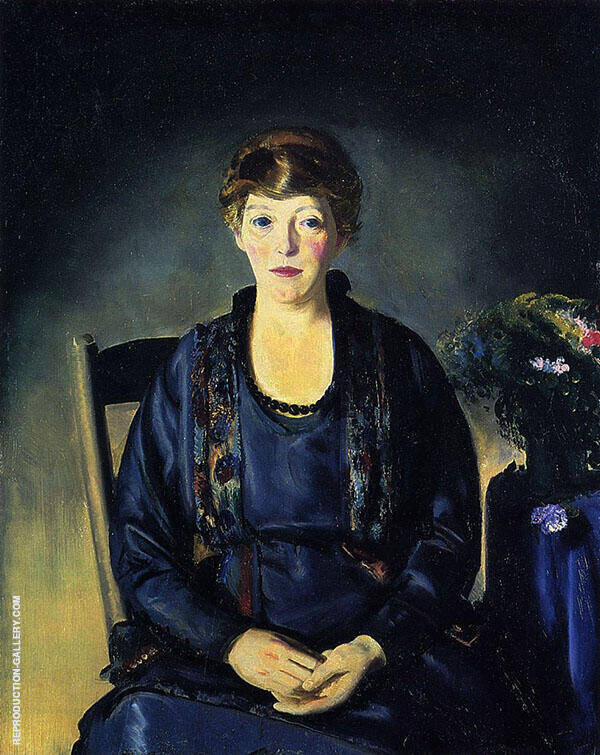 Portrait of Laura 1922 By George Bellows