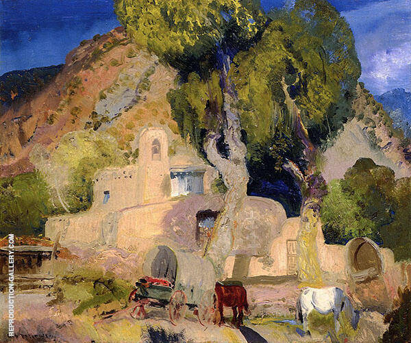 Santuario de Chimata 1917 By George Bellows