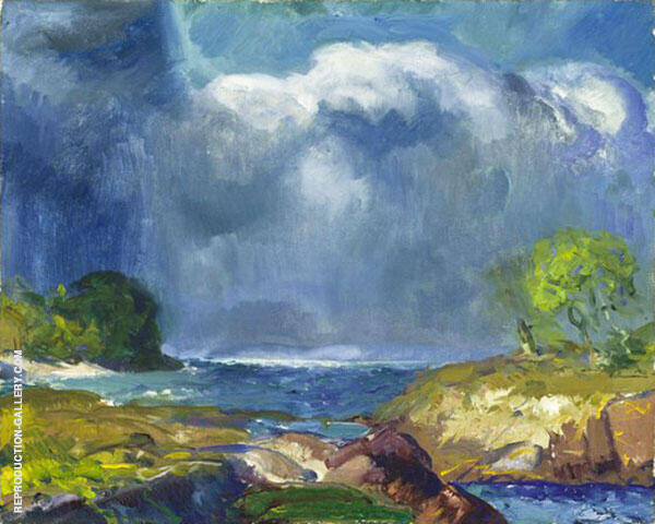 The Coming Storm By George Bellows