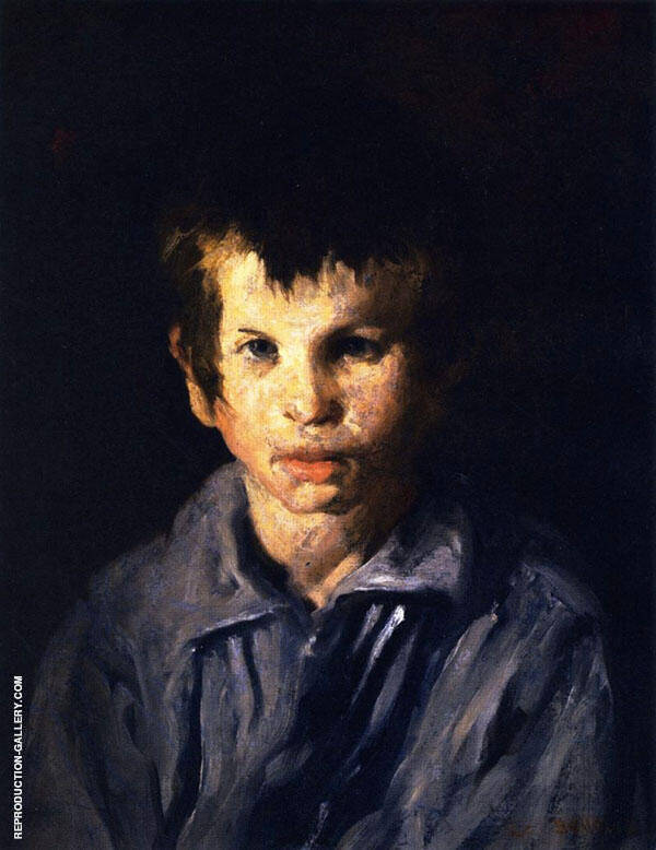 The Cross Eyed Boy Painting By George Bellows - Reproduction Gallery
