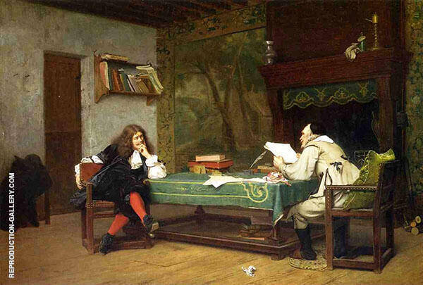 A Collaboration Corneille and Molie 1873 By Jean Leon Gerome