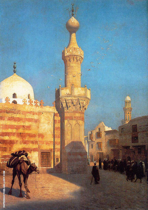 A View of Cairo 1890 By Jean Leon Gerome