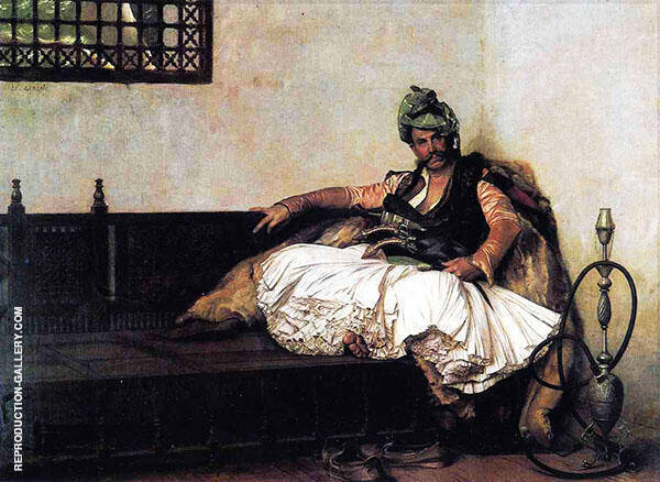 Bashi Bazouk Chief 1881 By Jean Leon Gerome