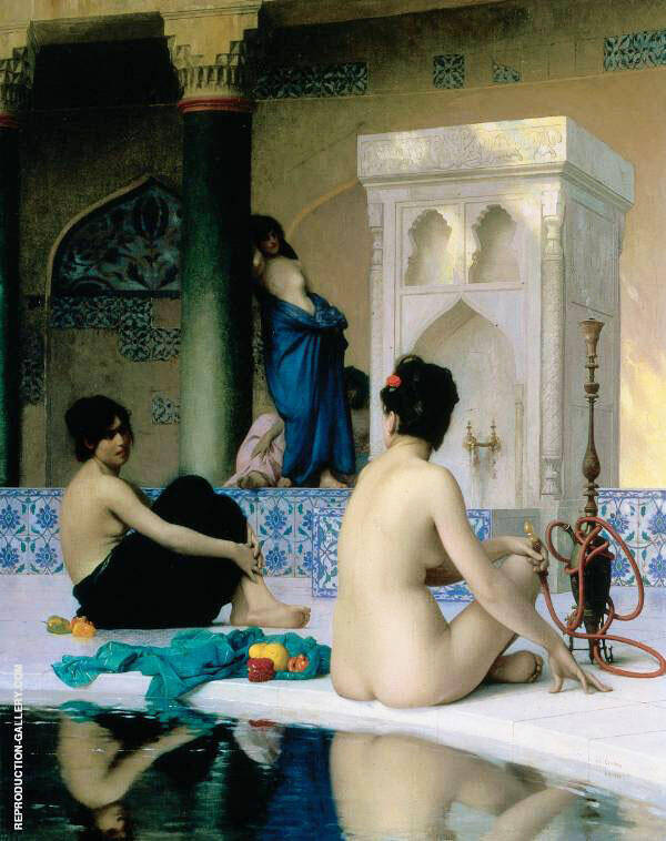 Bathing Scene 1881 By Jean Leon Gerome