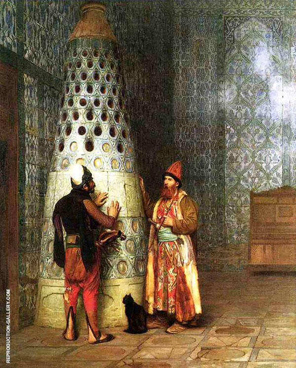 Before The Audience 1881 By Jean Leon Gerome
