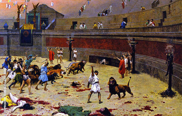 Departure of The Cats from The Circus 1902 By Jean Leon Gerome