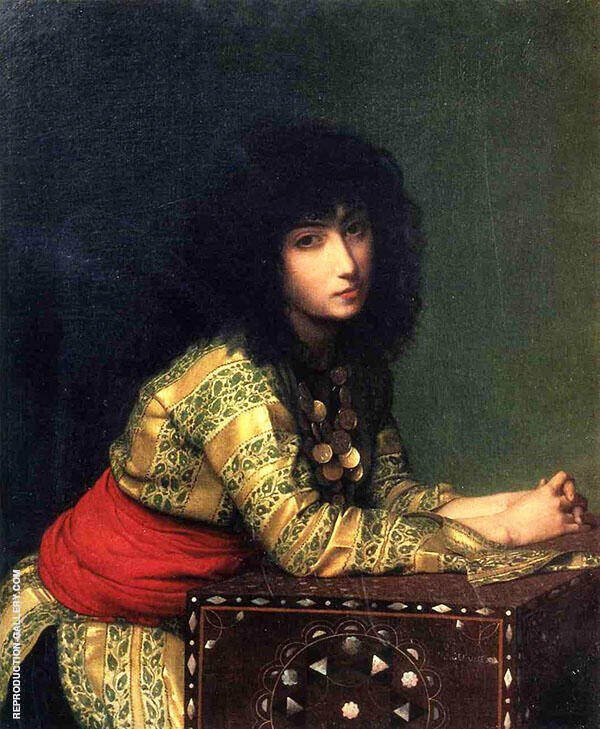 Egyptian Girl 1877 By Jean Leon Gerome