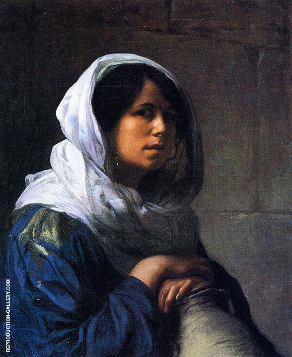 Egyptian Water Carrier 1882 By Jean Leon Gerome