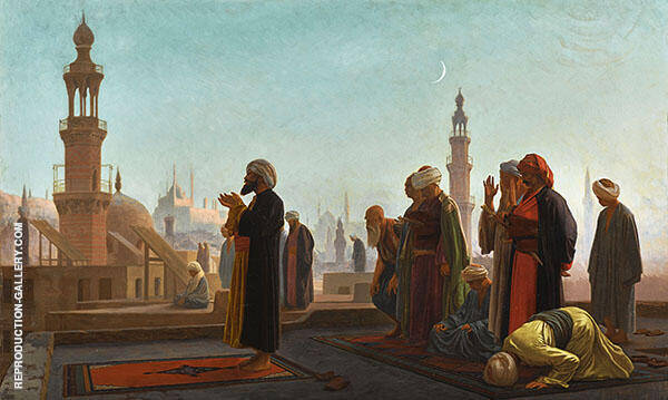 Evening Prayer Cairo By Jean Leon Gerome