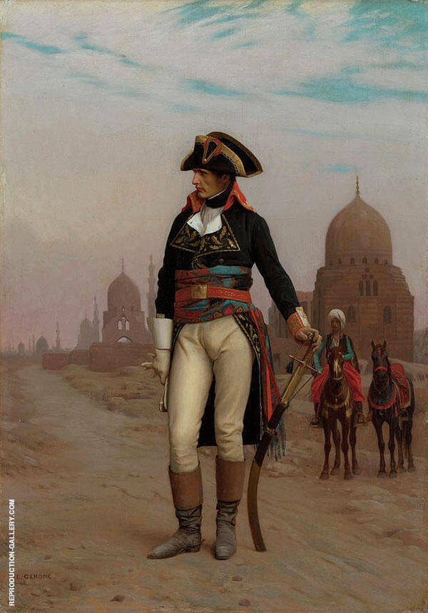 General Bonaparte in Cairo 1867 By Jean Leon Gerome